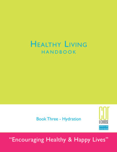 COR's Healthy Living Handbook 3