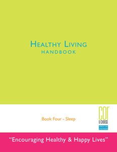 COR's Healthy Living Handbook 4
