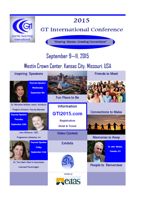 Gentle Teaching International 2015 Conference
