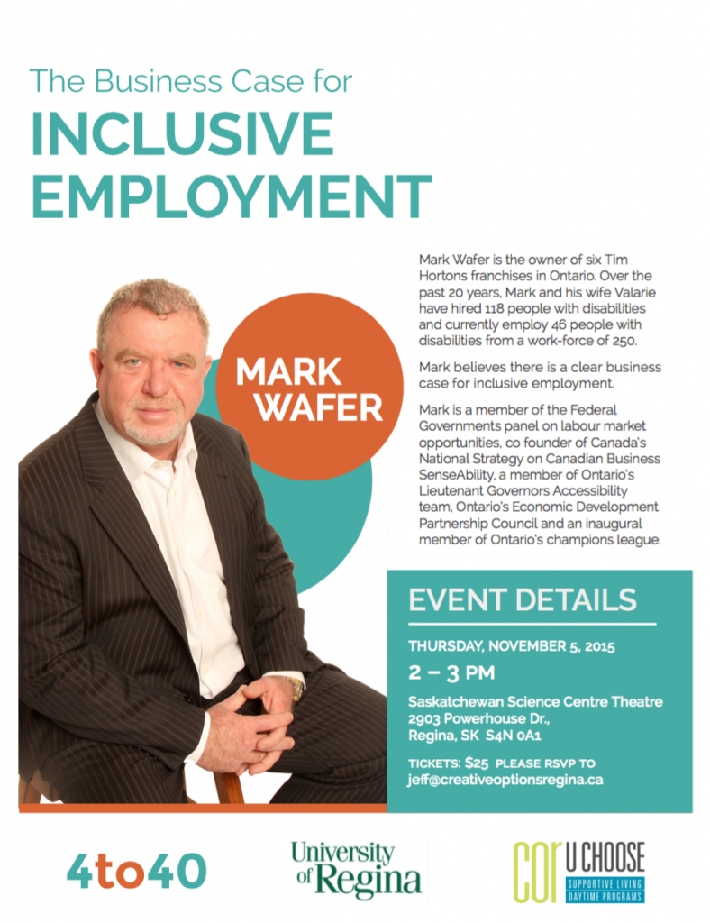 Inclusive Employment-Creative options regina