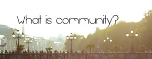 What-is-community