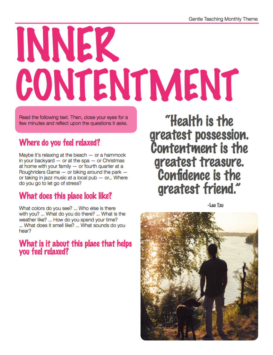 Inner Contentment