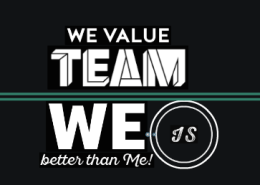 Gentle Teaching Theme for October-VALUE IN YOUR TEAM