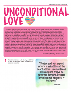 Uncondiational Love - 1