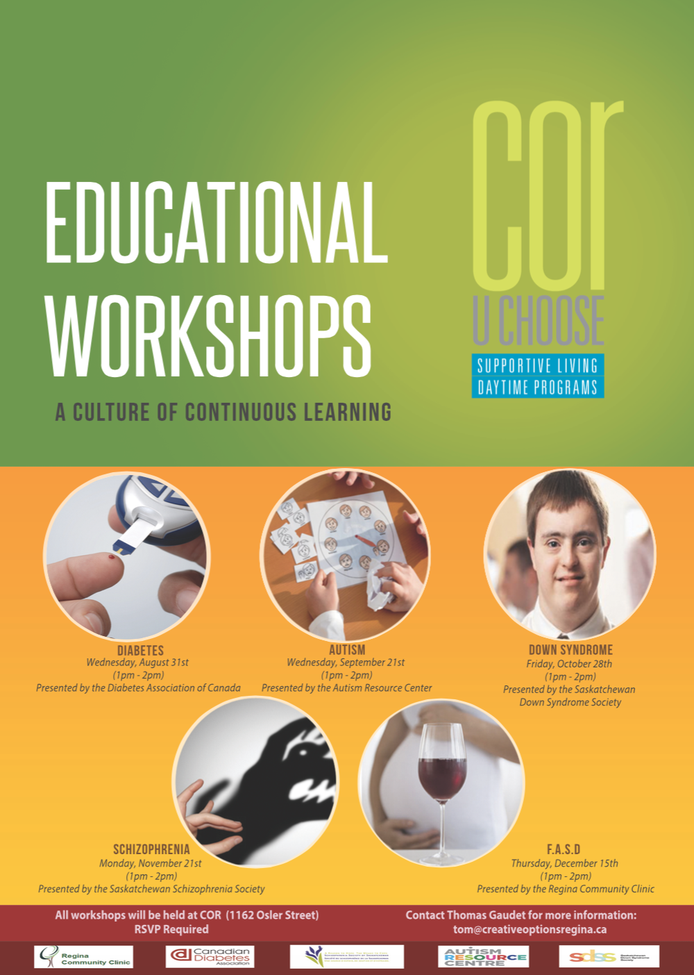 COR Learning Workshops