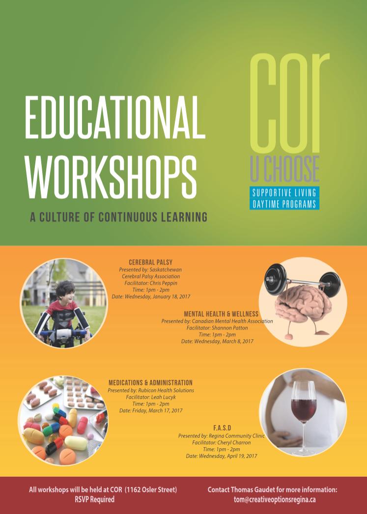 Educational Workshops 2017