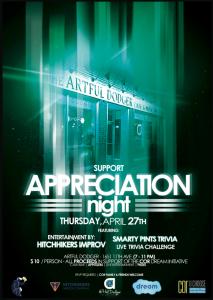 Support Appreciation Night 2017