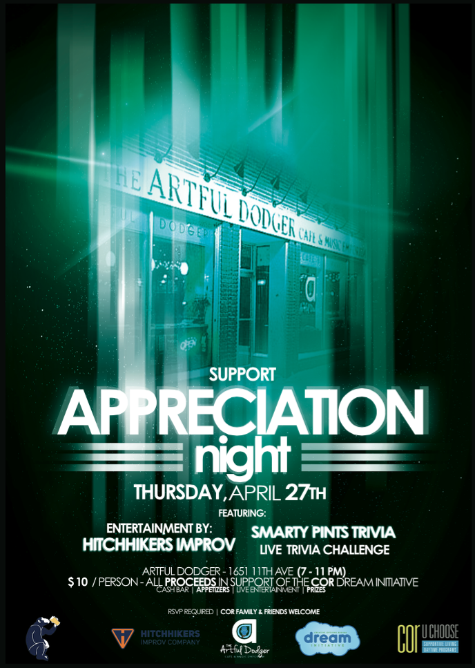 Support Appreciation Night 2017