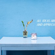 All ideas are valued and appreciated-cor