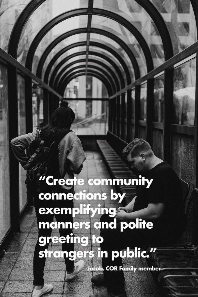 create community connections