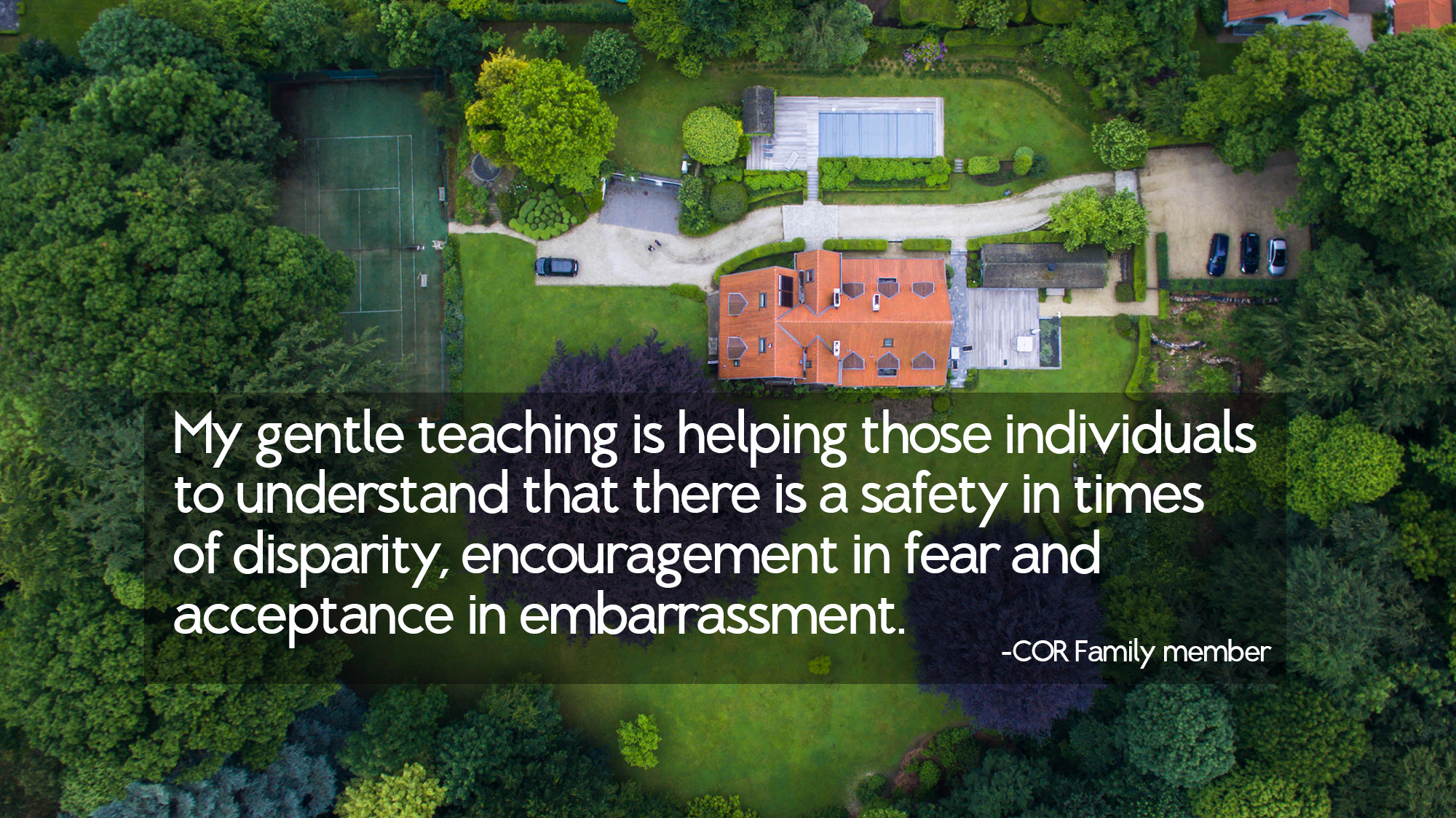 Those That Know Do Those That Understand Teach: My Gentle Teaching Is Helping Those Individuals To
