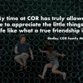 My time at COR