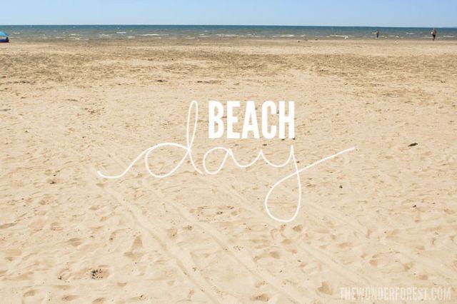 beach day hashtags